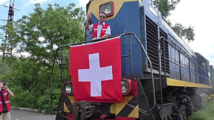 Ukraine: Swiss humanitarian aid train reaches Donetsk