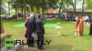 Руската православна общност в Германия празнува Деня на Победата с кръст