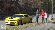Бихте ли си оставили приятелката с мъж заради кола?