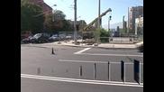 """Ще шумоизолират новостроящото се кръстовище на две нива на бул. """"Георги Софийски"""" и бул. """"Акад. Иван Гешов"""""""