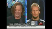 Chris Jericho and Mickey Rourke on Larry King