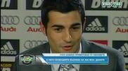 Раул Албиол приветстван от феновете