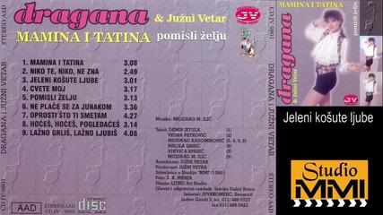 Dragana Mirkovic i Juzni Vetar - Jeleni kosute ljube (Audio 1990)
