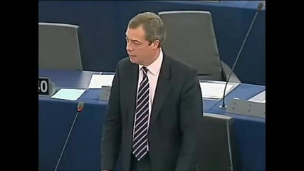 Nigel Farage - The Euro Game Is Up! Who the hell do you think you are?