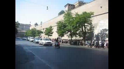 Опашка Пред Ватиканските Музеи 1