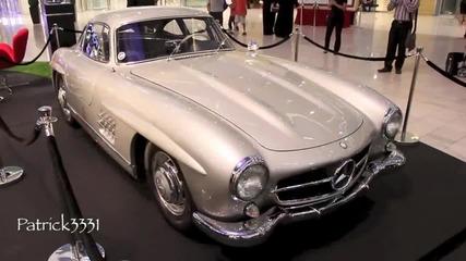 Mercedes 300sl Gullwing at Dubai Mall