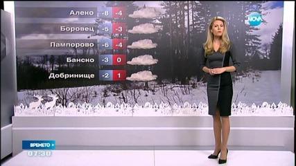 Прогноза за времето (17.12.2015 - сутрешна)