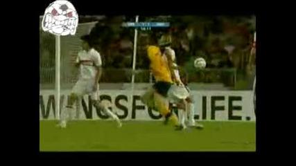 Щутгарт 1 - 3 Арсенал 30.07.08