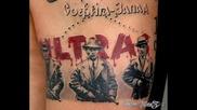 Levski Fans , Tattoos