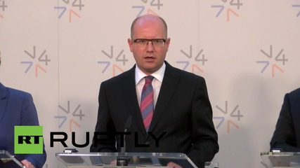 Czech Republic: PM Sobotka refuses refugee quota system