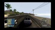 Tdu Aston Martin Db9 Volante - 4 minute Ride + Burnout