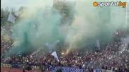 Синята агитка Левски - Цска 2:1 27.04.2013.