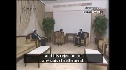 Сирийският президен Асад награждава терориста Кунтар