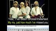 Abba Mamma Mia karaoke song