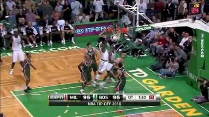 Nba Season 2010 - 2011 Milwaukee Bucks - Boston Celtics