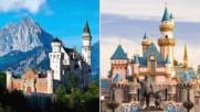 Топ 5 дворци от анимационни филми на Дисни, които съществуват наистина!