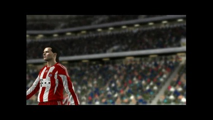 Fifa 11 Bayern Munchen 0:4 Man.united part 3