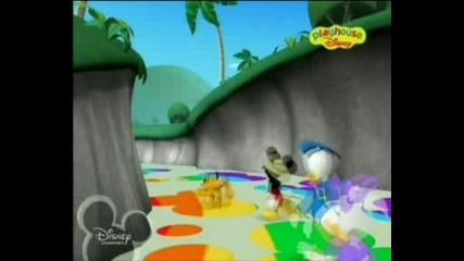 В клуба на Мики Маус - Мики и Мини на сафари в Джунглата бг аудио