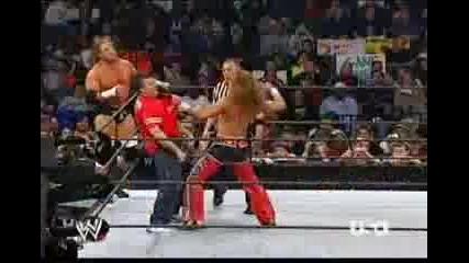 Трите Хикса и Шейн Макмеан срещу Джон Сина и Шон Майкълс - 20_3_2006