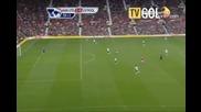 Манчестър Юнайтед 3:2 Ливърпул - Бербатов голове