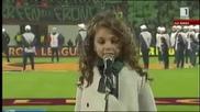 Крисия Тодорова - Моя страна, моя България пред 42 000 публика на стадион '' Васил Левски ''