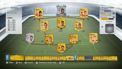 Най-добрият отбор правен някога?!| Fifa 14 Squad Builder