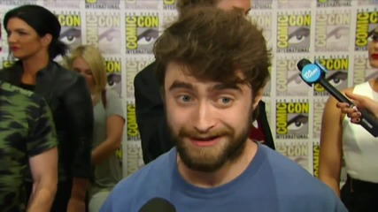 Daniel Radcliffe Is More Than A Movie Star At Comic-Con