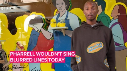 Pharrell now gets why 'Blurred Lines' was 'rapey'