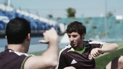 Реал Мадрид - Барселона - забавна реклама {adidas}