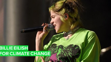 Billie Eilish declares a #ClimateEmergency in new video