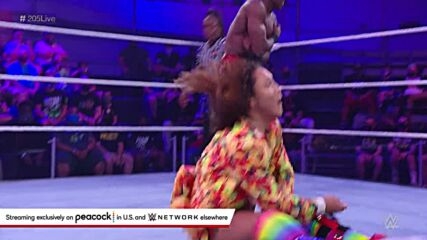 Ikemen Jiro vs. Malik Blade: WWE 205 Live, Sept. 24, 2021