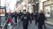 France: Arrests made as clashes erupt during student protest in Paris