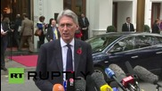 Austria: UK's Hammond says Syria negotiations are an 'exploratory discussion'