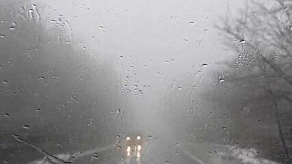 """""""Моята новина"""": Разград-Търговище - гъста мъгла и дъждо-сняг!"""