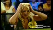 Смях! Jillian отново демонстрира уменията си на певица - I will always love you | Raw | 7.9.2009