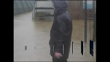 Тежки наводнения заради проливните дъждове във Великобритания