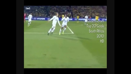 Top 20 Goals World Cup South Africa 2010 Hd!