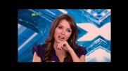 X Factor 2008 - Hannah Bradbeer