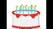 На рожден ден ела! (празнична торта)