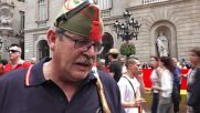 Spain: Around 1,300 turn out to support Spanish Legion in Barcelona
