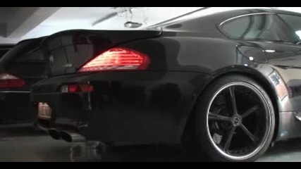 Bmw M6 G - power звук