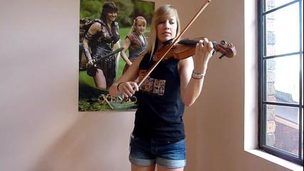 Страхотно изпълнение на цигулка.