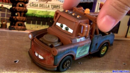 2013 Airport Mater & Holley Shiftwell Cars 2 Airport Adventure Collection Disney Pixar toys review