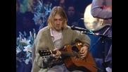 Nirvana - Something in the Way [ Високо Качество ] + Превод
