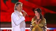Andrea Bocelli with Laura Pausini - Dare to Live