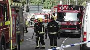 United Kingdom: Shepherd's Bush tower block goes up in flames in West London