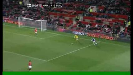 Foster Sidestep - Man Utd V Blackburn = Ca