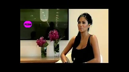 Nicole Scherzinger - Interview Orange Mobile
