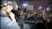 Mounted Police Charge Ethiopian-Israeli Anti-Racism Protesters