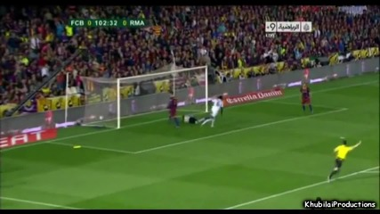 Големият гол на Кристиано Роналдо - Copa Del Rey 20.04.2011